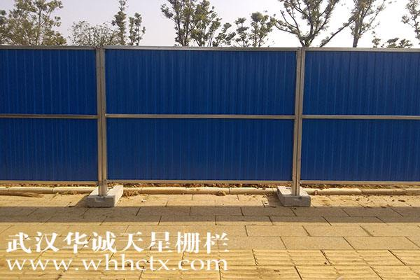 淮北新型彩钢/金属围挡应该如何安装