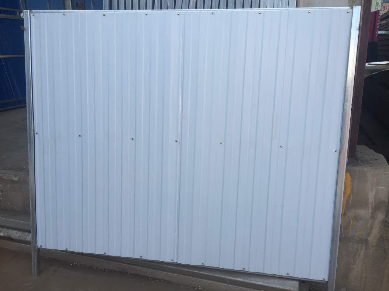 合肥彩钢瓦围挡全封闭安全防护方案